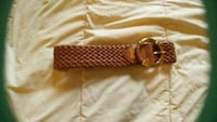 Brown woven leather belt - NEW Kitchener, N2G 4X6