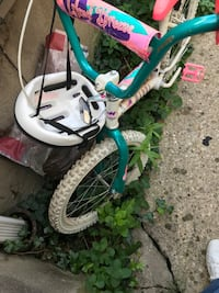 toddler's green and white bicycle Covington, 41015