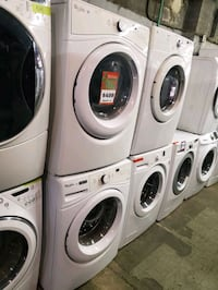 Whirlpool front load Washer and dryer set working perfectly