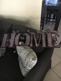 HOME wall decor approx 28Lx12H