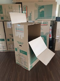 Wardrobe boxes (4 large 2 medium) Mississauga, L5B