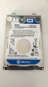 WD  Notebook 500GB Harddisk Ereğli, 67300