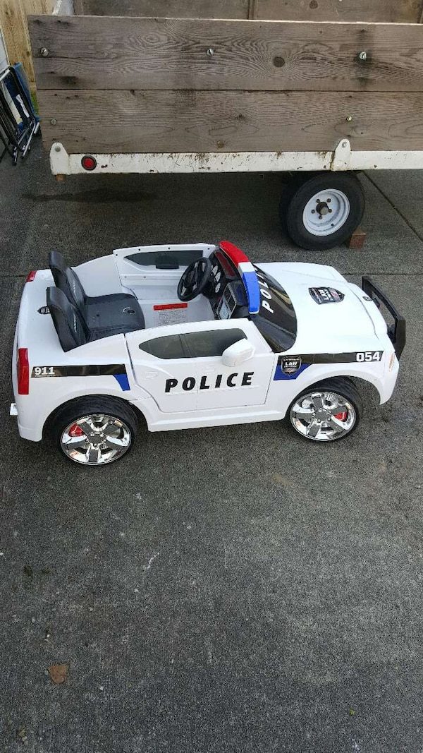 Used Power Wheels Police Car For Sale In Lynnwood