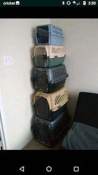 Dog and Cats Crates Kennels Carriers different siz