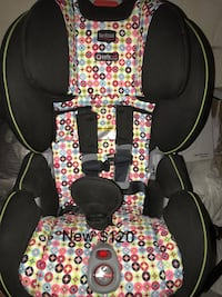 baby's black and yellow floral car seat 奥尔巴尼, 12205