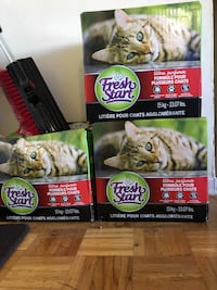 Cat litter 3 boxes x 15kgs Mississauga, L5E 3K2