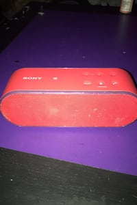 Sony blue tooth speaker