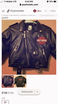 Hardly Davidson 2t toddlers jacket used but in very good condition  Los Angeles, 90023