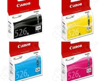 Canon Black Blue Magenta Yellow Cli 526 Ink Cartri Greater London, SE1 0TG