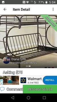 Bunk bed for sale 505 mi