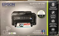Epson WF-2750 Fax Wireless Inkjet Printer New Carrollton, 20784