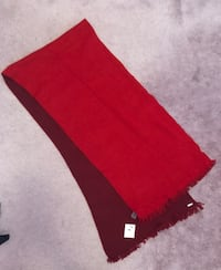 Brand New Calvin Klein Scarf with Tag (Red and Burgundy) Toronto, M1W