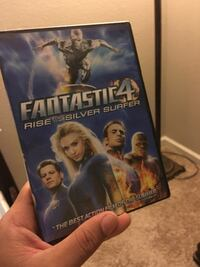 Fantastic 4 rise of the Silver Surfer DVD movie case