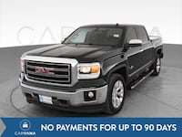 2014 GMC Sierra 1500 Crew Cab pickup SLT Pickup 4D 5 3/4 ft Green Petersburg
