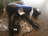 Conair 1875 Watt Turbo Hair Dryer with Styling Attachment