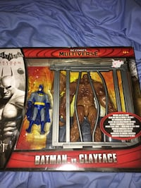 Multiverse Batman Vs Clayface action figure pack London, N6J 4X9