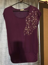 Purple shirt with beaded detail Widefield, 80911