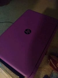 Purple and black Touch BeatsAudio HP laptop.  Washington, 20012