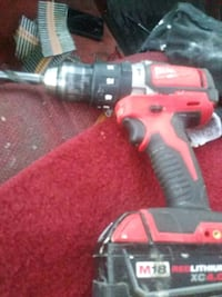 red and black cordless hand drill Stockton, 95205