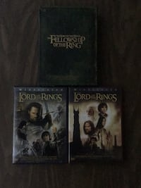 Lord of the Rings DVDs Bondurant, 50035