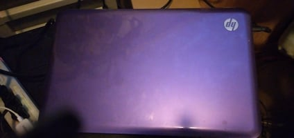 Purple HP Windows 8.1 Pro Laptop