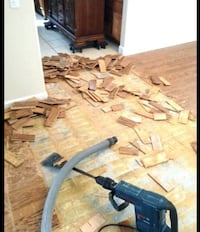removing flooring or tiles Toronto