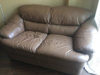 Brown Leather Love Seat Toronto, M2J 4X2