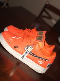 AIR FORCE ONES NEON JUST DO IT EDITION SIZE 12 Toronto, M3L 2J3