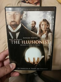 The Illusionist DVD case Valdosta, 31605