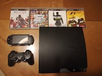 Set negro Sony PS3 slim MADRID