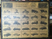 Large Ford Wall Plaque 40 km