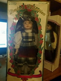 Limited Edition Vintage Porcelian Doll 612 mi