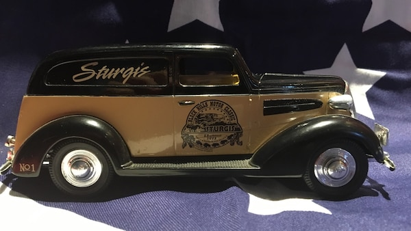 1937 Chevy Sedan Delivery Bank Car Sturgis Rally Races Black Hills Motor Classic Limited Edition 6 5 In Long