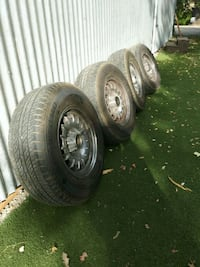 4 mercedes auto wheel with tires Upper Lake, 95485