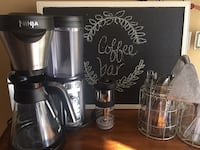 Ninja coffee bar. Used a few times. Comes with frother and recipe book.  144 mi