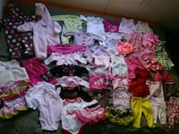 Girls 3month Clothing Lot - 50 Items   Eagle, 83616