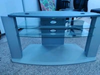 TV stand with glass Barrie, L4N 0E6