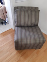 Gray/brown armchair Mississauga, L5R 0C5