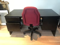 Office desk and chair Toronto, M3K