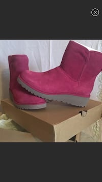 Women's Ugg's Kristen pink boots size 9.5 and 5 Philadelphia, 19152
