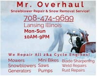 2 and 4 Cycle Engine Repairs, Snow Removal  Lansing
