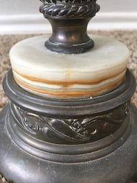 Antique bronze and marble Lamps Corpus Christi, 78413