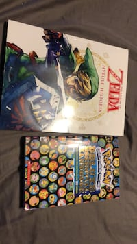 zelda book perfect shape  and pokemon perfect shape $15 each or $30 for both Boise, 83713