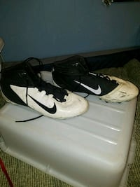 Alpha speed nike cleats SZ12 Vine Grove, 40175