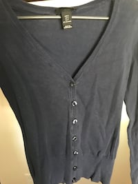 black button-up sweater Sneads Ferry