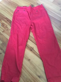 Red women's caprese pants Mount Pearl, A1N