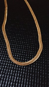 18k gold plated fox chain  Mississauga, L5V 2Z6