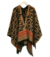 black and brown tribal print long sleeve dress Etobicoke, M9W