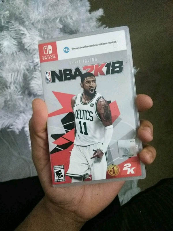 41c0912784b Used NBA 2K18 for Nintendo Switch for sale in Jonesboro - letgo
