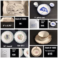 Everything in photos only $5 each or take any five items for $20, see all photos, please use item # when responding Lanoka Harbor, 08734